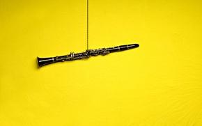 Обои музыка, кларнет, инструмент
