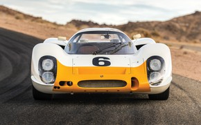 Картинка Porsche, вид спереди, Coupe, 908, Kurzheck