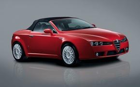 Картинка spider, Alfa Romeo, кабриолет