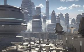 Картинка город, игры, Electronic Arts, DICE, star wars battlefront