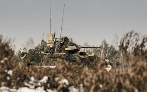 Картинка боевая, Bradley, машина пехоты