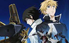 Картинка аниме, роботы, парни, Broken Blade