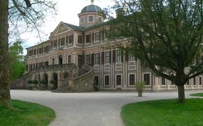 Картинка Германия, Архитектура, Germany, Architecture, Дворец Фаворит, Раштатт, Rastatt, Schloss Favorite