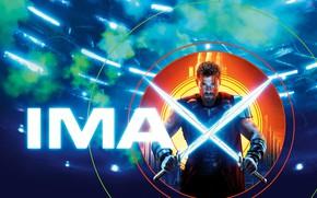 Обои Тор, Thor, фантастика, Крис Хемсворт, MARVEL, камикс, Thor: Ragnarok, мечи, IMAX, доспехи, Тор: Рагнарёк, Chris ...