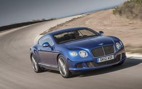 Картинка дорога, Bentley, Continental, GT Speed