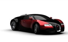 Картинка car, машина, рисунок, Bugatti, бугатти, резина, Picture, гиперкар, hypercar, tires, Boke, 3d, буга