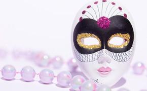 Обои стиль, маскарад, праздник, маска