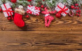 Картинка снег, украшения, елка, Новый Год, Рождество, подарки, happy, Christmas, wood, New Year, Merry Christmas, Xmas, …