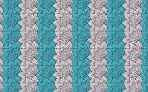 Обои design, pattern, ornament, floral, mandala, design by visnezh