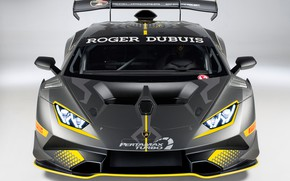 Картинка фары, Lamborghini, гоночное авто, Huracan, Super Trofeo Evo