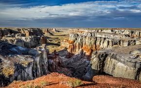 Картинка горы, скалы, каньон, Аризона, ущелье, США, Coal Mine Canyon