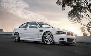 Обои Bummer, BMW, White, E46