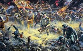 Обои Противогаз, колючая проволока, WWI, Атака Мертвецов, Русская Императорская армия, Германская имперская армия, Первая Мировая война