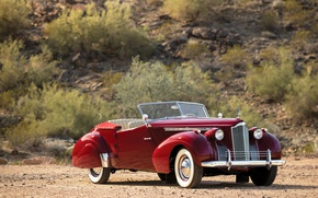 Картинка авто, кабриолет, Convertible, Victoria, Packard
