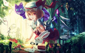 Картинка аниме, девочка, Touhou, Тохо, Тоухоу