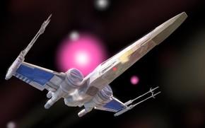 Картинка Star Wars, Звёздные Войны, X-wing