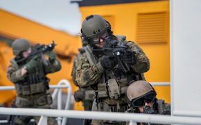 Картинка оружие, солдаты, экипировка