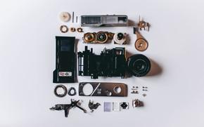 Картинка Фотоаппарат, Механизм, Детали, Hi-Tech