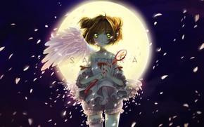 Картинка ангел, девочка, Card Captor Sakura, Сакура - собирательница карт