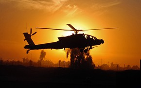 Картинка helicopter, Apache, attack helicopter, AH 64 Apache