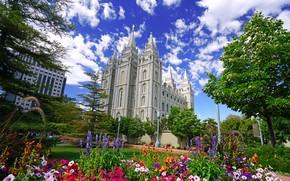 Картинка Юта, США, Salt Lake City, Солт-Лейк-Сити