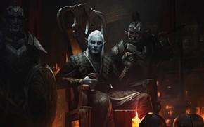 Картинка игра, арт, эльфы, The Elder Scrolls Legends