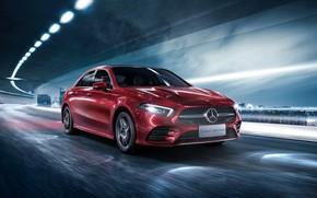 Обои 2019, L Sport, A200, A-Class, Sedan, Mercedes-Benz