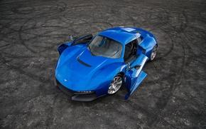 Картинка car, supercar, blue, Rezvani Beast, Rezvani, Rezvani Beast Alpha