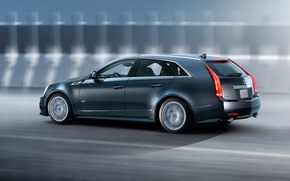 Картинка Cadillac, CTS-V, Sport, универсал, Wagon