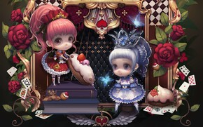 Картинка куклы, сказка, театр, Alice, детская, milkyu dong
