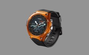 Картинка smartwatch, Casio Smart Outdoor Watch WSD-F1, Cassio