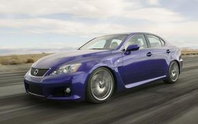 Картинка дорога, Lexus, IS-F, седан