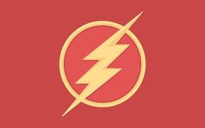 Картинка vector, logo, image, DC comics, The Flash, Barry Allen