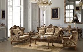 Картинка дизайн, стиль, вилла, интерьер, гостиная