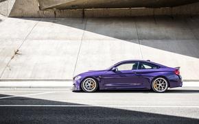 Картинка свет, фотограф, BMW M4, Jeremy Cliff, Ultraviolet