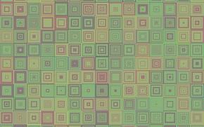 Обои geometric, background, геометрия, абстракзия, mosaic, square, abstract, concentric, мозаика