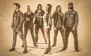 Картинка Sweden, melodic death metal, metalcore, Industrial Metal, Amaranthe, Heavy Metal, Power metal
