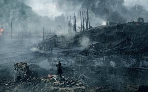 Обои солдат, Electronic Arts, игра, Battlefield 1, война