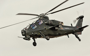 Картинка red star, attack helicopter, China Air Force, CAIC Z-10, WZ-10