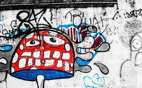 Картинка граффити, рисунок, Magic Mushroom