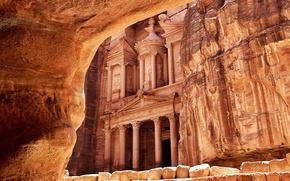 Картинка Петра, Rock, Petra, Desert, Иордания, Ancient