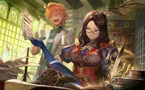 Обои девушка, аниме, Fate / Grand Order, парень, двое