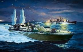 Картинка ВМС США, Patrol Torpedo boat, Торпедный катер, PT-109