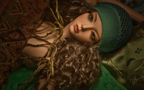 Картинка игрушка, кукла, шапочка