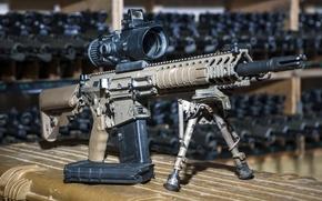 Картинка оружие, фон, 7.62mm, Sharpshooter Assault Rifle, L129A1