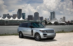 Картинка Range Rover, with, color, exterior, matched, customized