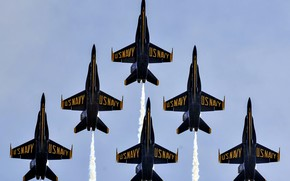Картинка Blue Angels, United States Marine Corps, Air Show