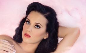 Обои певица, Katy Perry, брюнетка