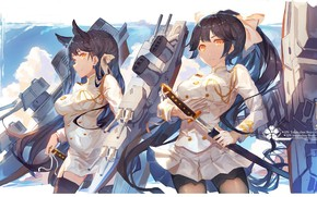 Картинка gun, game, military, weapon, big, war, anime, katana, pretty, ken, blade, oppai, uniform, bishojo, seifuku, …
