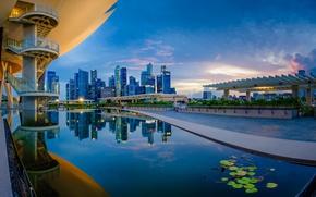 Картинка Сингапур, Singapore, Marina Bay Sands, Arts and Science Museum